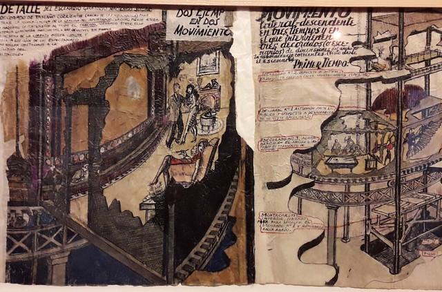 boceto de Nuevo Modelo de Teatro de Enrique Jardiel Poncela