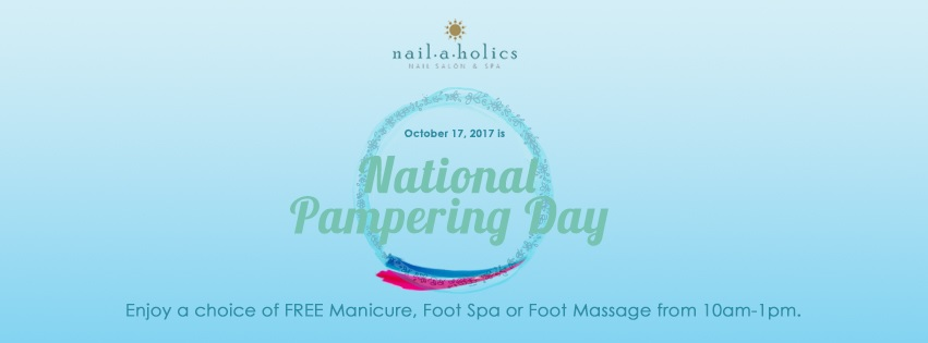 Nailaholics celebrate National Pampering Day again!