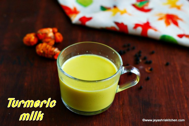Turmeric -milk