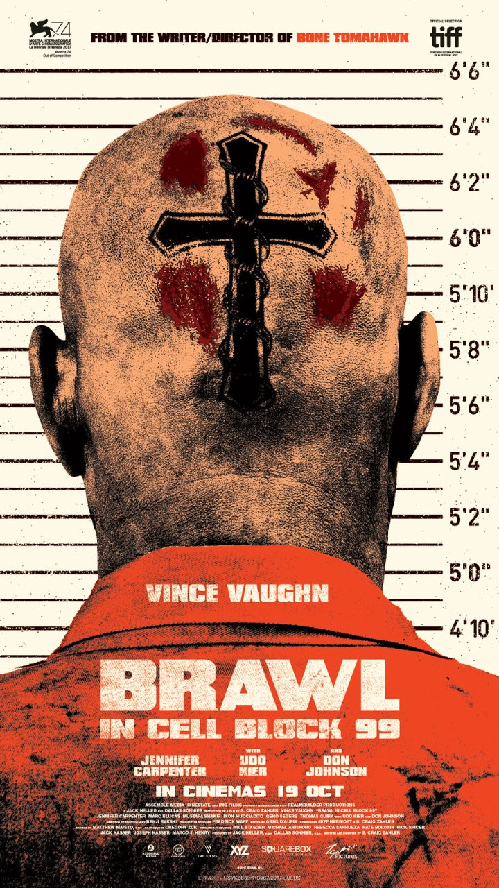 Peraduan Premiere With Budiey €� Filem BRAWL IN CELL BLOCK 99