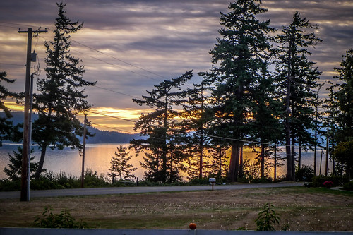 Samish Island Sunset