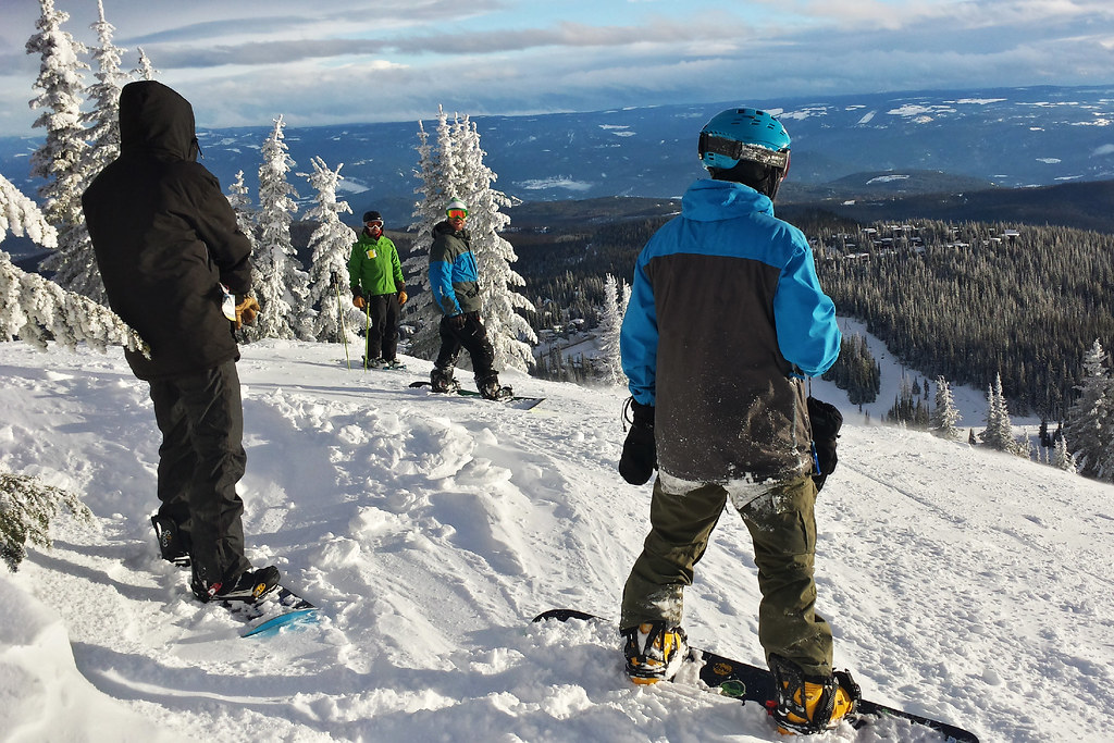 Silver Star Mountain Resort gang