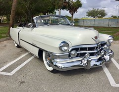 1950 Cadillac Series 62 Convertible. There's no car that Parts Avatar cannot provide best quality car parts for.   #cars #classiccars #vintagecars #oldisgold #carsworld #classiccarsdaily #autoparts #toronto #canada #cadillac #convertible