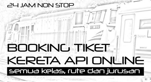 Booking TIket Kereta Api Online