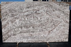 Granite slabs for countertop White Torroncino