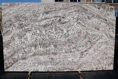 Granite slabs for countertop White Torroncino