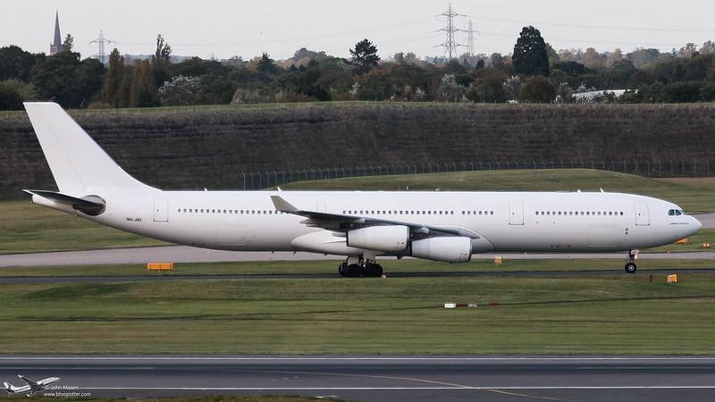 9H-JAI A343 HFY