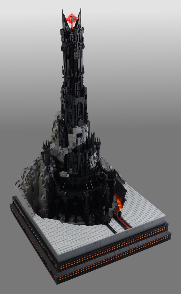 Barad-dûr, home of Sauron
