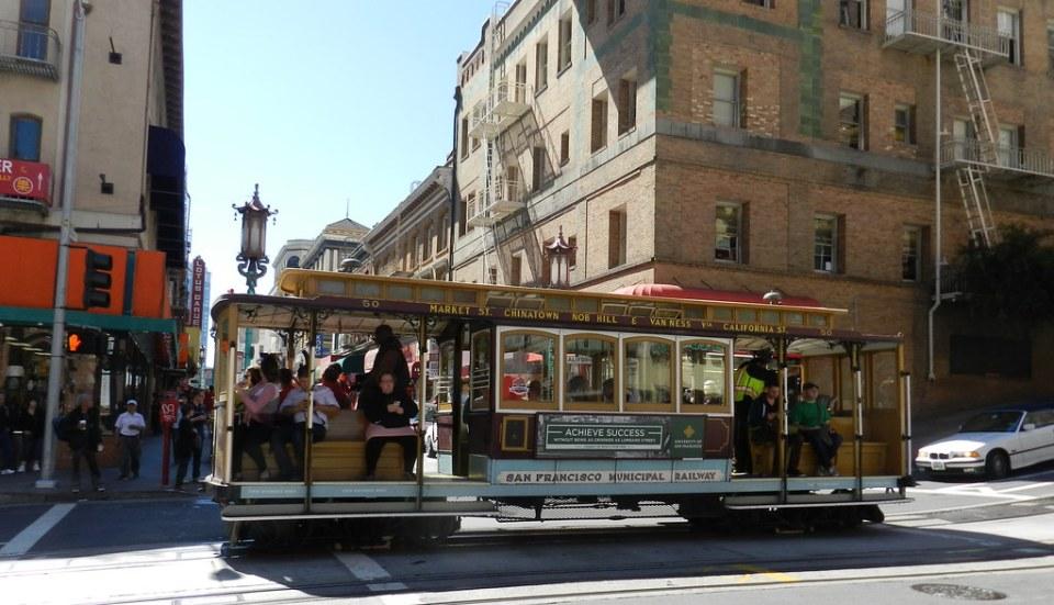 Medios de Transporte turistico San Francisco California EEUU 03