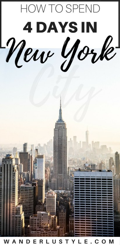 How to spend 4 days in new york city travel guide for Things to do in new york in 2 days