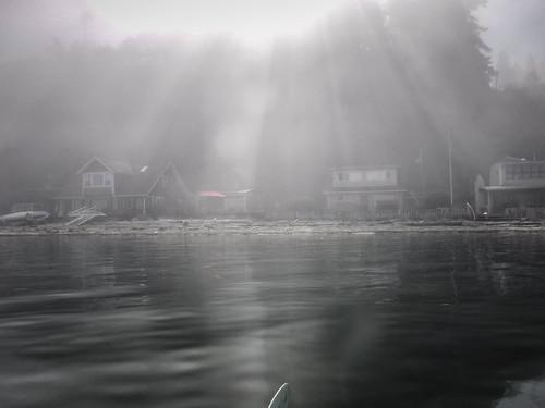 Samish Island Paddling in Fog-46