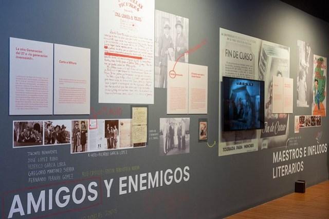 Sala de la exposición Poncella's office en el Centro de Historias.