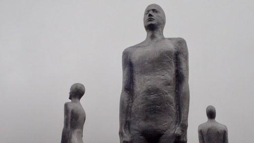 Reykjavik Airport Statues