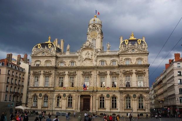 Hôtel de Ville in Place des Terreaux