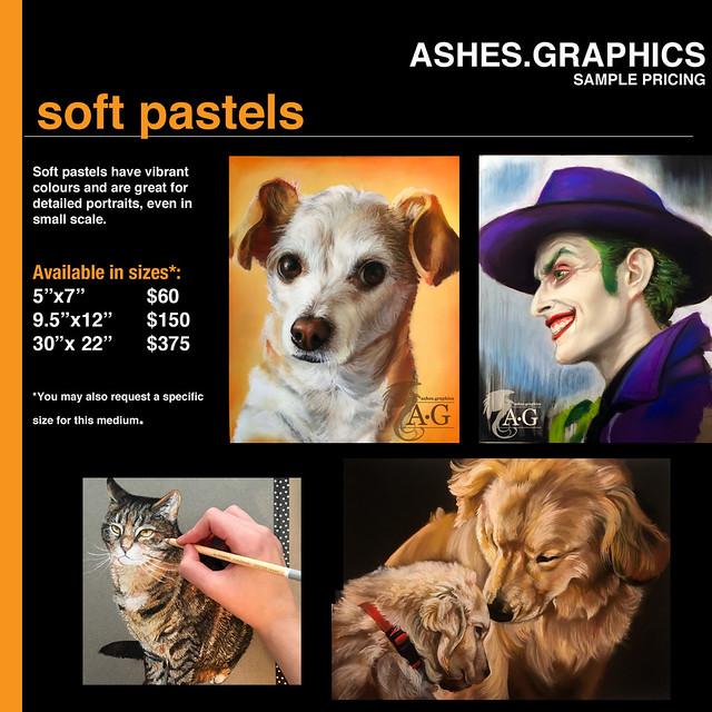 Updated Price List: Pastels