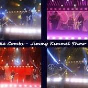 Luke Comb Jimmy Kimmel Show.