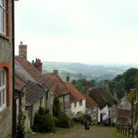 Travel: England - Gold Hill in Shaftesbury, Dorset