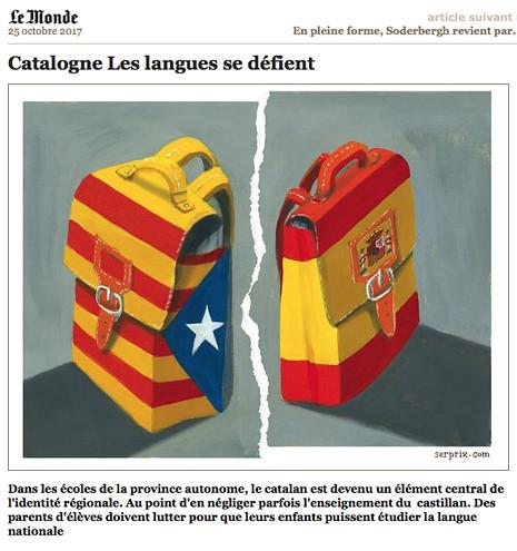 17j24 Catalogne Les langues se défient Uti 465
