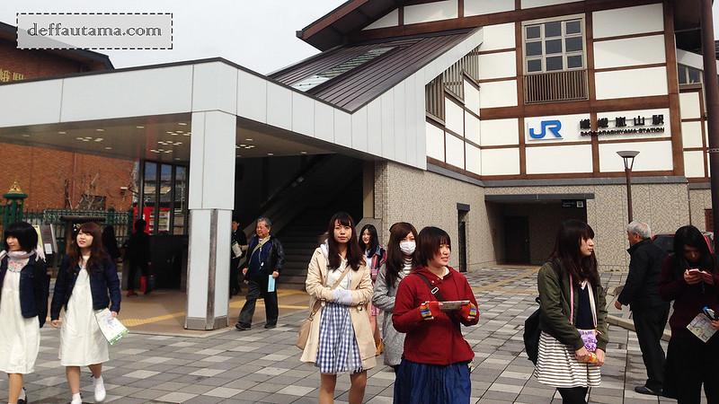 3 Hari Keliling Kyoto - JR Saga Arashiyama Station