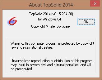 Phần mềm TopSolid 2014 full crack mãi mãi