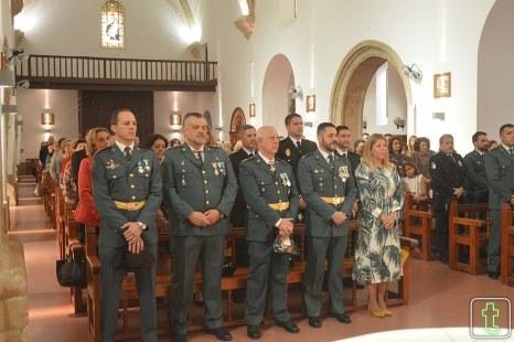 Celebración patrona de la Guardia Civil