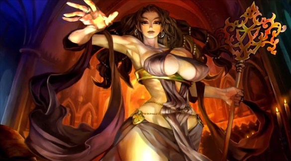 Dragon's Crown Pro - Sorceress