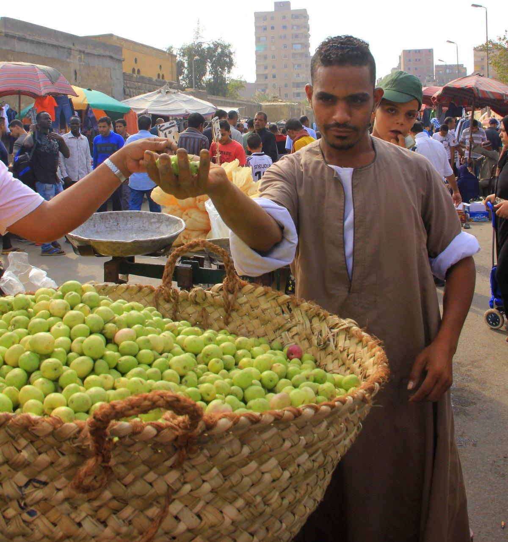 Vegetables on sale at Friday Market