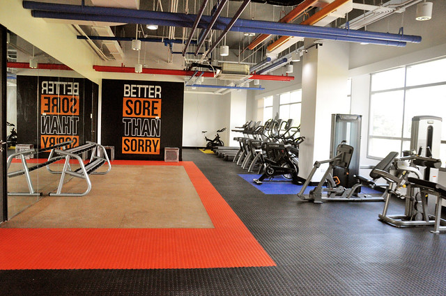 TELUS International McKinley West Gym
