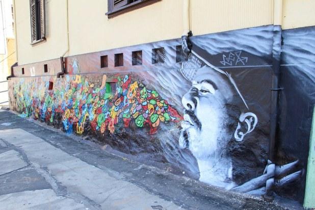 Murales en Valparaiso