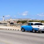 Havana, Cuba - Old Car @Malecón.