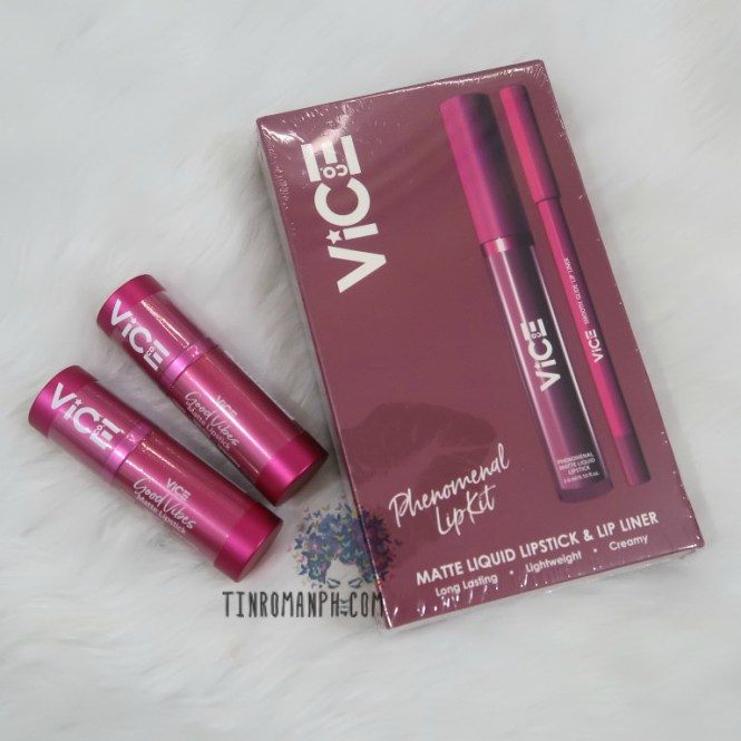 Vice Cosmetics Phenomenal Lip Kit - Unicorn Review