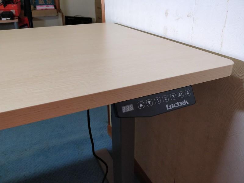 Loctek 電動式スタンディングデスク サイズ デスク部分 (2)
