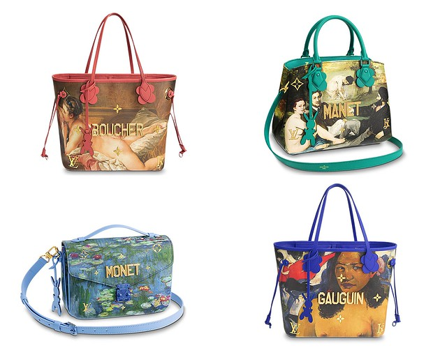 Neverfull Louis Vutton Jeff Koons Masters