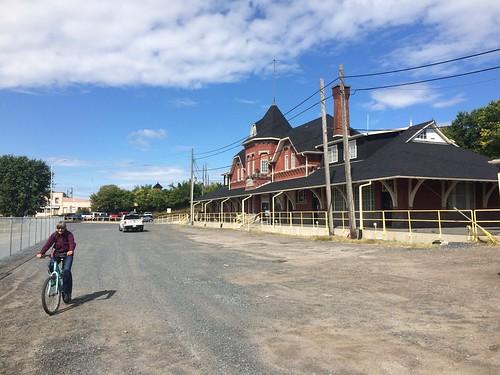Kenora the train station.
