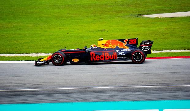 171028 マレーシアGP決勝レッドブルのマックスフェルスタッペン
