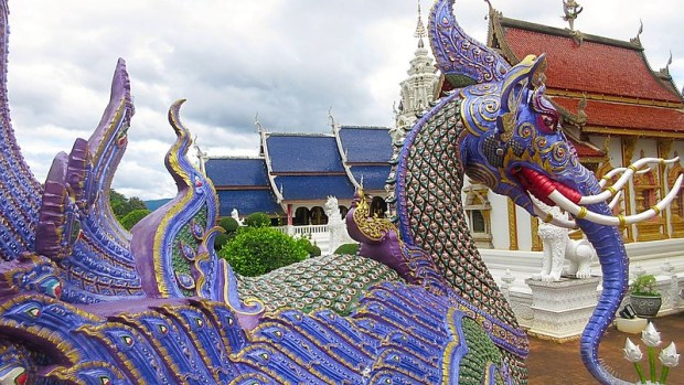 Remarkable Temple Chiang Mai Thailand