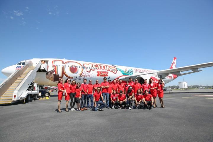 Sedekad Kecemerlangan: AirAsia X Terus Komited