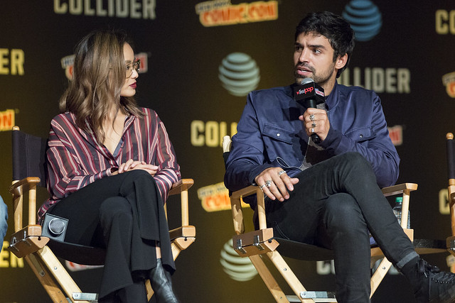 Jamie Chung and Sean Teale