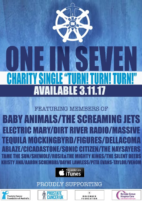 One In Seven Charity Single Poster