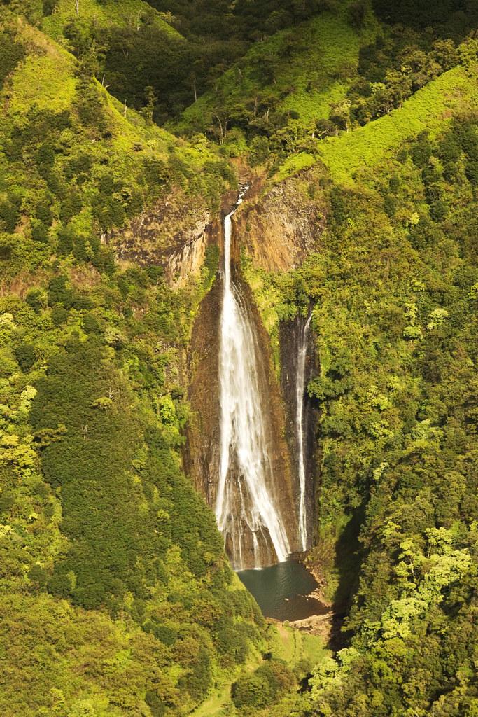 Majestic Kauai waterfalls
