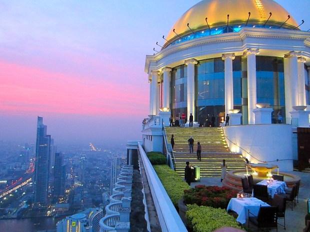 Sirocco Sky Bar State Tower Bangkok
