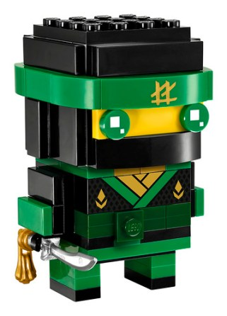 41487 Lloyd LEGO Ninjago Movie BrickHeadz