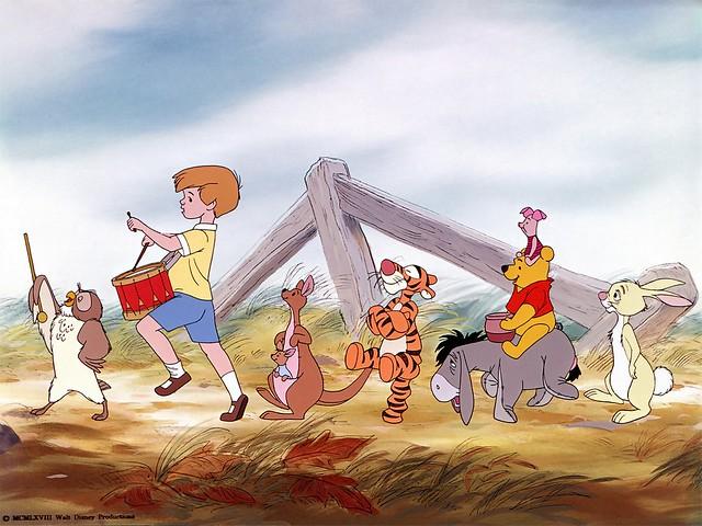 winnie the pooh cartoon