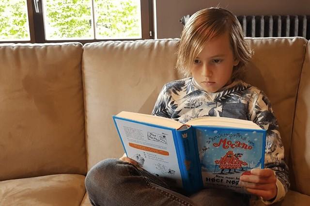 Kamiel van Kids&Trips leest Hoge Noorden
