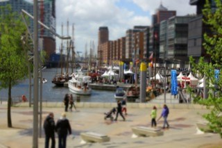 Sandtorhafen in Hamburg
