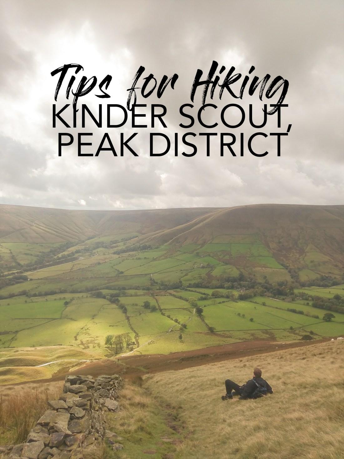 Tips for Hiking Kinder Scout, Peak District