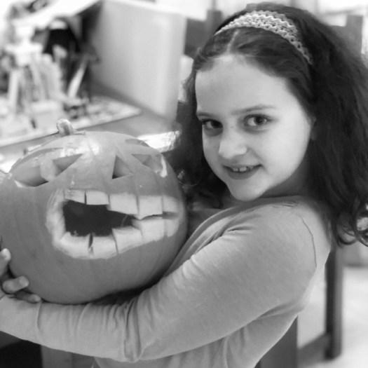 301/365 Pumpkin face