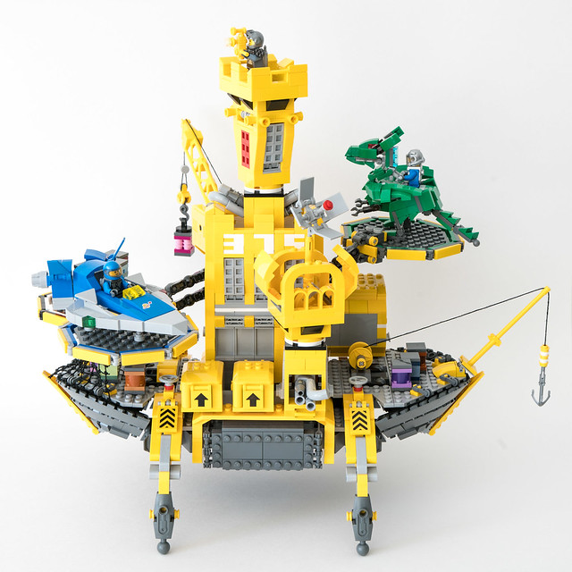 Color Refinery 375 - Hommage couleurs LEGO Old School