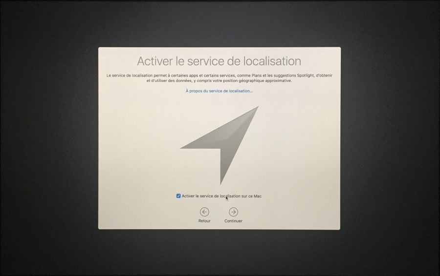 Installation mac OS Etape 00017