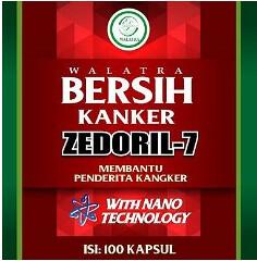 Walatra Zedoril 7 Sehat Kanker